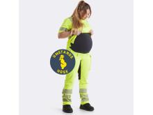 Blåkläder Arbeits-Umstandshose High-Vis