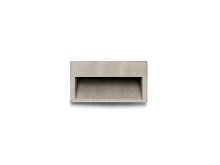 Concrete wall recessed luminaire