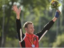 Großer Jubel nach Titelgewinn – Alexander Bley ist Europameister über 3.000 Meter Hindernis