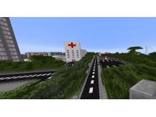 Minecraft Future City Framtidskompassen Vellinge