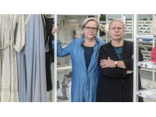Karin Lindvall, museichef, och Molly Wikdahl, ansvarig arkitekt Carlstedt Arkitekter.