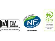 SCHMIDT certificeringer_3xISO-NF-PEFC
