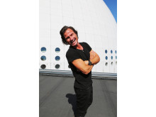 Petter Stordalen invigde ny hotellutbildning på Quality Hotel Globe i Stockholm