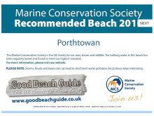 Marine Conservation Society Recommended Beach