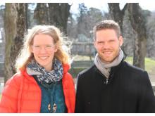 Helena Bjurberg och Kristoffer Ekman, Högskolan i Skövde