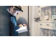 Installatører fra Buvik Elektro tester ut Powel Elsmarts P0 app