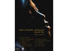 Sabina Ddumba turnéstopp