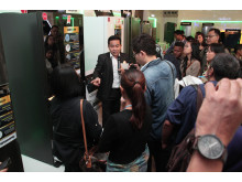 Product Tour to Introduce New Panasonic Glass Door series for Media
