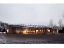 Finnskogscentrum i Lekvattnet öppnar 14 Juni 2014