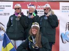 Fyra VM-medaljörer under VM i speedski