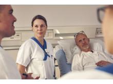 Bed-side rapportering på Akademiska sjukhuset