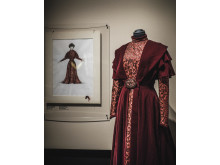 Skiss och kostym för Fanny och Alexander