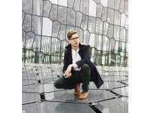 Pianisten Víkingur Ólafsson (foto Enno Kapitza).