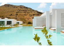 Spies' nye Casa Cook-hotel ligger nær Rhodos by og har en loungeagtig stemning. Fra alle værelserene er der direkte adgang til egen eller fælles pool.
