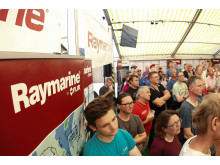 High res image - Raymarine - RTIR Pre-race Weather briefing (copyright Paul Wyeth)