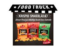 Street Food: tillfälliga snacks från Estrella 2019