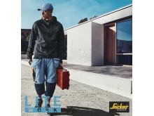 LiteWork arbeidsbukse fra Snickers Workwear