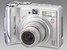 PowerShot A550