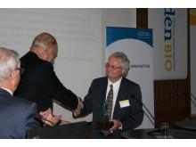 Vinnare av förra årets SwedenBIO Award - Gyros