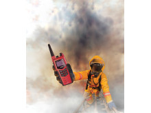 High res image - Cobham - Maritime -SAILOR 3965 UHF Fire Fighter