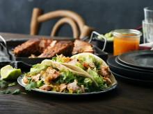 Fish tacos med lax