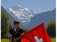 Fahnenschwingen, Unspunnenfest Interlaken / Quelle: Verein Unspunnenfest