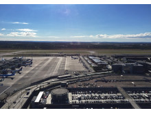 Parkering Oslo lufthavn - sommer 2017