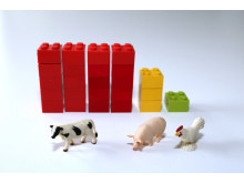 Carbon dioxide emissions per kilo of protein 1
