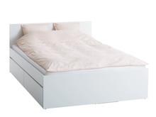 LIMFJORDEN Bed frame 180x200 white (2400,-)