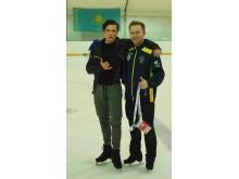 Ondrej Spiegl och Alexander Majorov