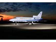 Hi-res image - Cobham - The Falcon 900B/C/EX series will be certified for the installation of Cobham's AVIATOR 300D