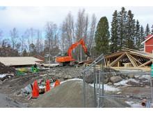 2017-03-22 Takstolar och tak monteras