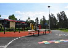 Lekplatsen vid Strandvallen på Vallås