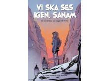 Omslag seriealbumet Vi ska ses igen, Sanam
