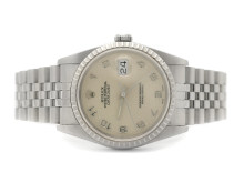 Klockor 3/8, Nr 101, ROLEX, Oyster Perpetual, Datejust, Chronometer