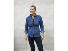 Kristin Hareide i klær fra Celina Midelfart