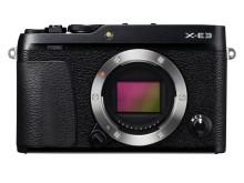 FUJIFILM X-E3 black front