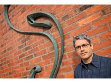 Professor Sebastian Stichel, föreståndare för KTH Järnvägsgruppen. Foto: Peter Larsson.