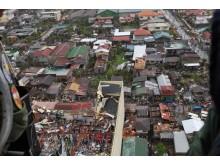 Tacloban City efter tyfonen Haiyan.