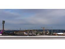 Oslo Lufthavn januar 2014