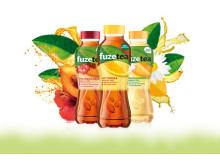 kolme Fuze Tea -juomauutuutta