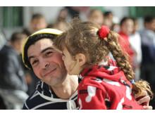 Clowner skapar hopp hos Syriens barn