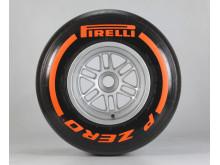 Pirelli P Zero Orange, new hard compound F1 tyre 2013