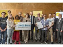 """Foto: Preisträger: Edith-Stein-Schule, Staatliche Realschule (Alzenau), Projekt: """"Energieparcours für Erneuerbare Energien"""""""