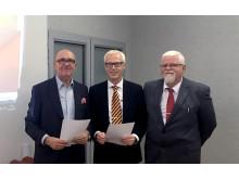 Kontraktskrivning Treklövern och Tulcon SA Polen