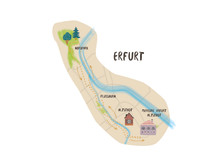 Joggingroute Erfurt - Grafik AccorHotels