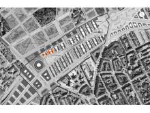 Kvarteren Oxford och Coimbra i Hagastaden