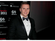 SportsAid alumnus David Weir CBE at the SportsBall in 2011