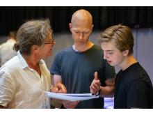 Fra venstre Peter Langdal, Kenneth Bøgh Andersen og Oscar Dietz