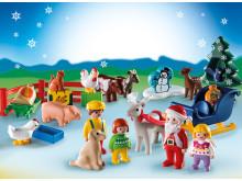 """Adventskalender """"Weihnacht auf dem Bauernhof"""" von PLAYMOBIL 1.2.3"""